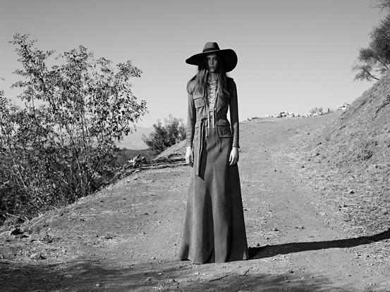 Saint-Laurent-Suede-Safari-Dress-SS-2013