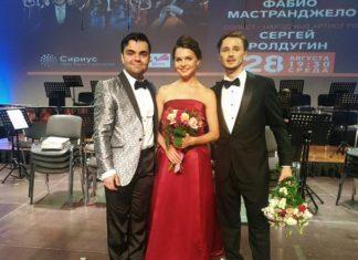 Солисты театра Мюзик-Холл - Анна Викулина, Тигрий Бажакин, Савелий Андреев