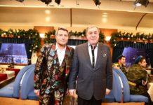 Михаил Гуцериев и Николай Басков