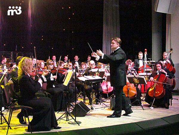 Президентский оркестр Республики Беларусь под руководством В. Бабарикина