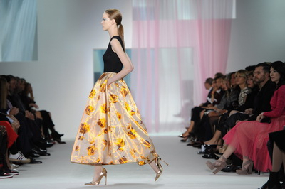 Christian Dior: Runway - Paris Fashion Week Womenswear Spring / Summer 2013