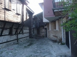 Улочка в  Старом Несебре