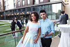 Наташа Королева вместе с молодым певцом Русланом Громовым