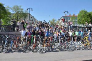 Участники и их велосипеды