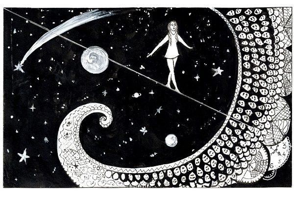 «Подо мной открылась бездна, такие тайные загадки…» Художник Ирина Левина