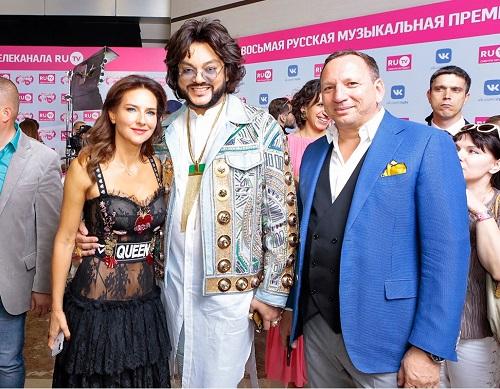 Филипп Киркоров премия RUTV