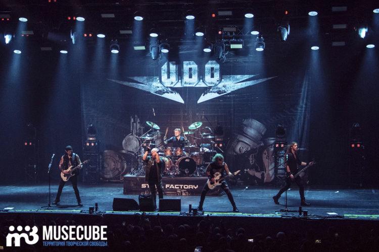 В Петербурге стартовал новый тур U.D.O.
