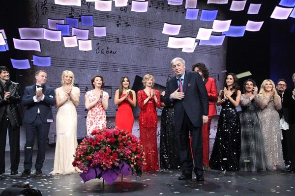 Юбилейный концерт поэта Михаила Гуцериева