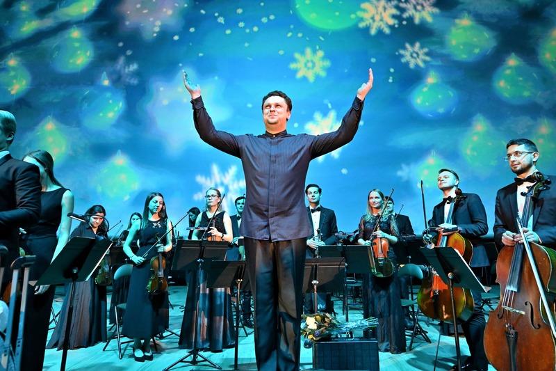 Музыка любви в исполнении симфонического оркестра «Таврический»