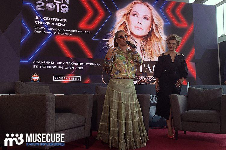 Пресс-конференция Anastacia