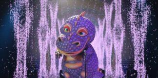 динозавр маска